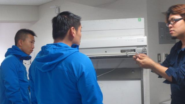 シャープ AY-Z22SE「おそうじ機構付エアコン」分解洗浄セミナー